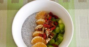 Sveikiems pusryčiams – ispaninių šalavijų sėklų pudingas