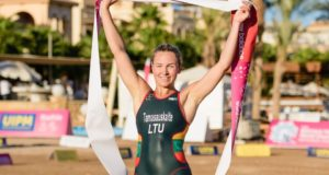 A.Tamašauskaitė – pasaulio triatlo čempionė, L.Batulevičiūtei – bronza