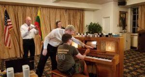 Paskaitoje – grįžimas į pianolų amžių