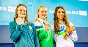 Plaukikė Agnė Šeleikaitė – jaunimo olimpinių žaidynių čempionė
