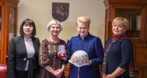 Lietuvos Prezidentei – išskirtinis Ukrainos žmonių apdovanojimas