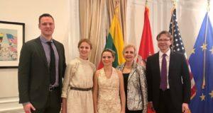 Vašingtone pristatytas Lietuvos ambasadoriaus fondas ateities lyderiams