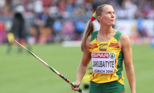 Indrė Jakubaitytė pagerino pasaulio rekordą